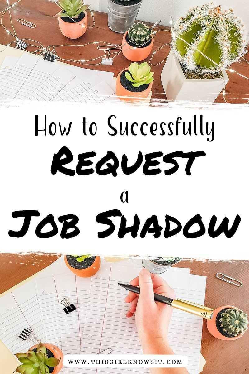 How to Successfully Request a Job Shadow