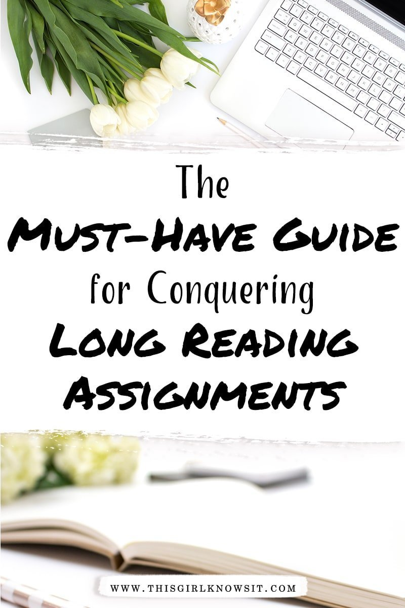 The Must-Have Guide for Conquering Long Reading Assignments
