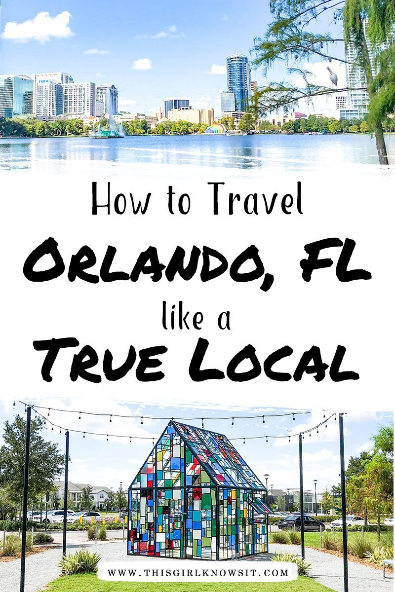 Visiting Orlando soon? Check out these guest post from Samanthability on how to visit Orlando and its different neighborhoods like a true local. #orlando #florida #travel #localguide
