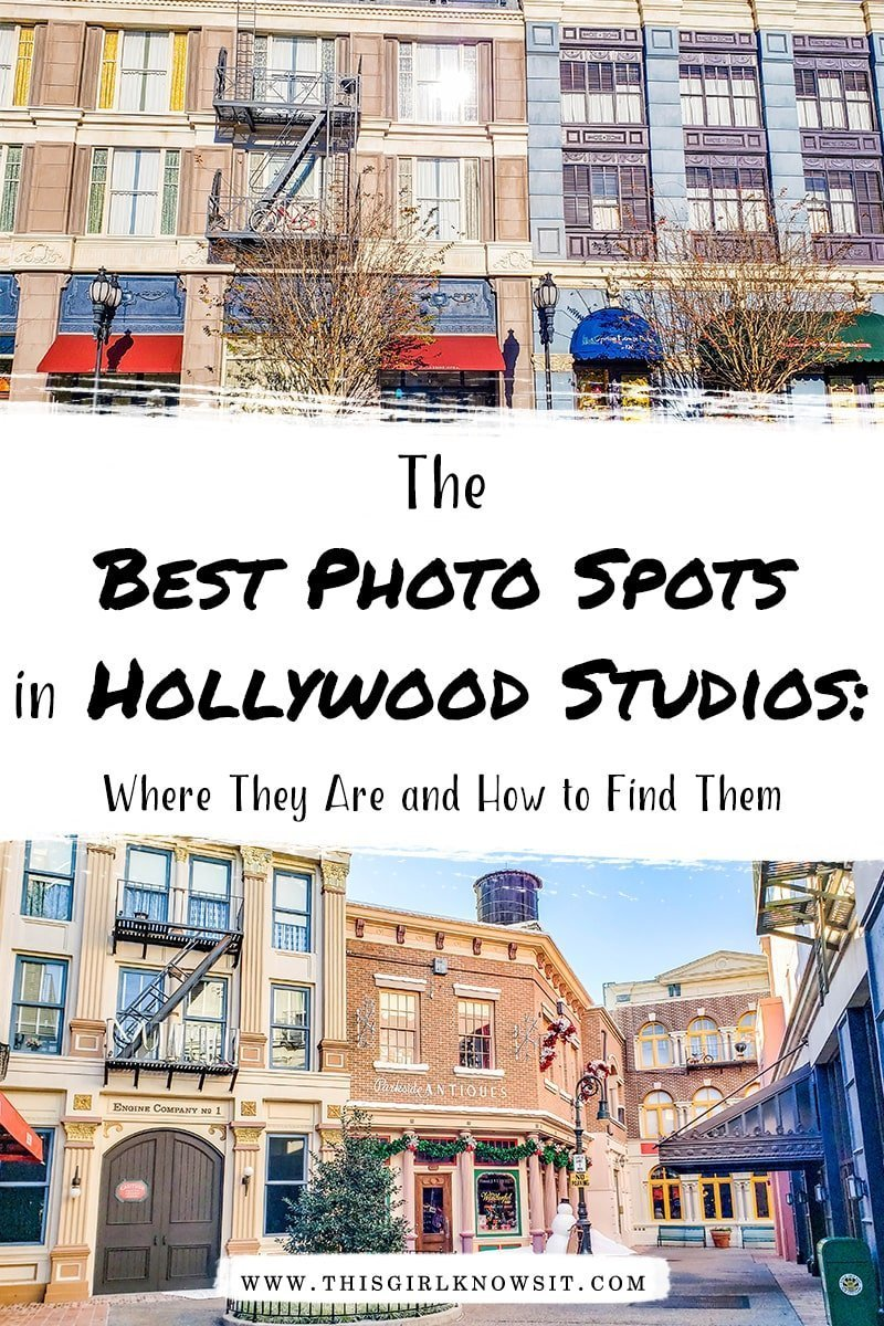 An Instagrammer's Guide to Hollywood Studios