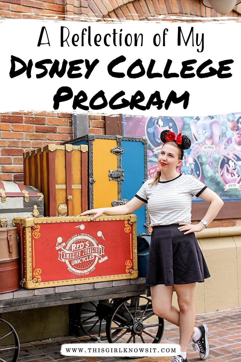 The Disney College Program was one of the most magical experiences of my life. In this post I am reflecting on everything the Disney College Program means to me and my amazing experience with it. #college #disney #disneycollegeprogram #dcp #florida
