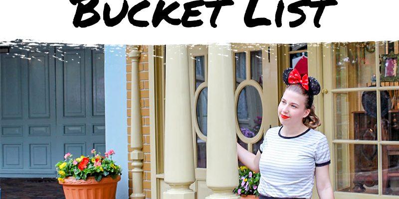 How to Create the Ultimate Disney College Program Bucket List
